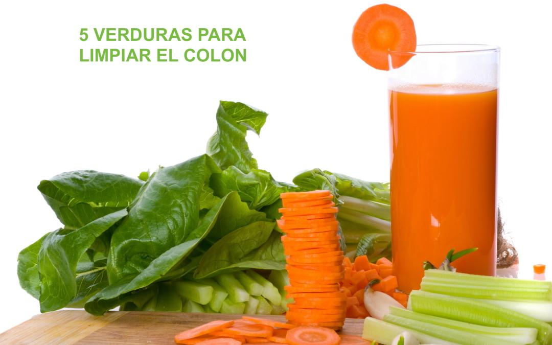 Verduras que limpian tu colon