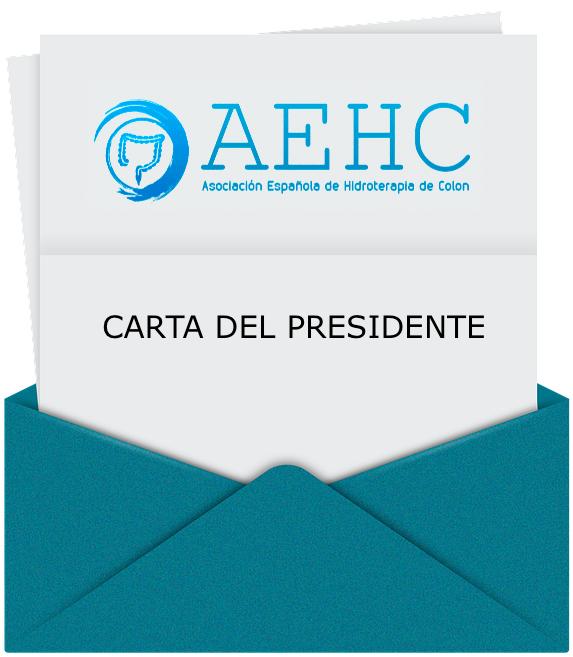 Carta del Presidente AEHC sobre las últimas noticias acontecidas